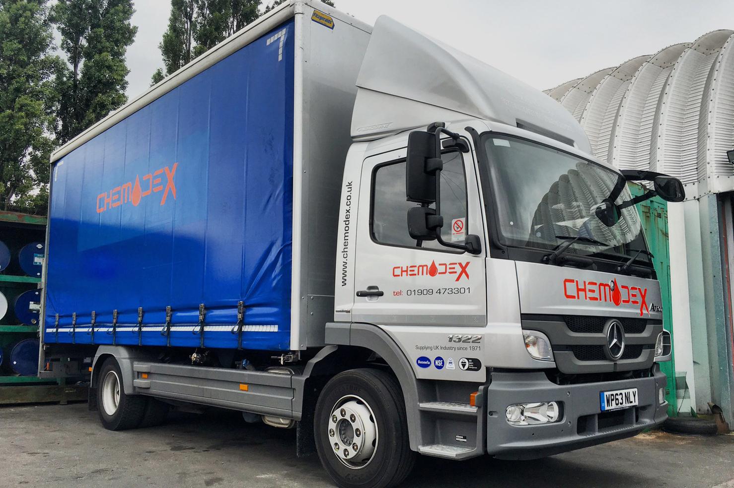 chemodex-lorry