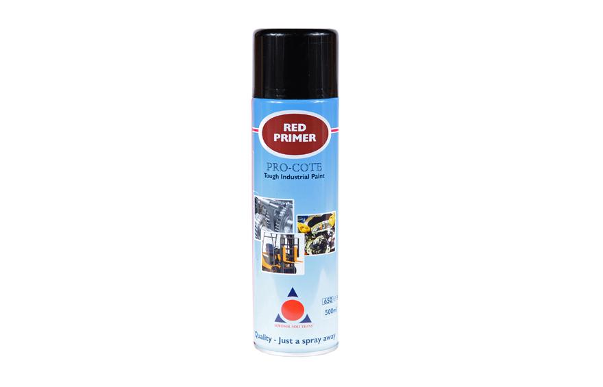 Pro Cote Spray Paint Red Primer